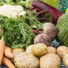 Locally Grown Fruit and Vegetables